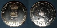 1977 FOREIGN COINAGES H to P Inde. République. 50 roupies 1977 (B) Mum... 100,00 EUR  +  7,00 EUR shipping