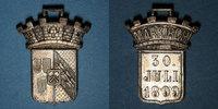 1899 ELSAß Sainte-Marie-aux-Mines. Manifestation. 1899. Bronze argenté... 15,00 EUR  zzgl. 7,00 EUR Versand