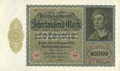 19.1.1922 DEUTSCHLAND Allemagne. Billet. 10 000 mark 19.1.1922, série ... 5,00 EUR  zzgl. 7,00 EUR Versand