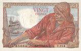 10.3.1949 BANKNOTEN DER BANQUE DE FRANCE Banque de France. Billet. 20 ... 12,00 EUR