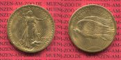 20 Dollars USA Double Eagle St. Gaudens 19...