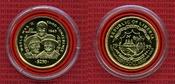 250 Dollars Gold 1995 Liberia Goldmünze Li...