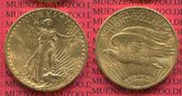 20 Dollars Gold 1910 USA St. Gaudens Typ, ...