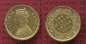 Indien British Indien Mohur 1875 vz/prfr k...