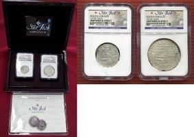 4 Reales & 8 Reales Silbermünzen 1574-1622...
