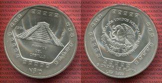 5 Unzen Silbermünze 1994 Mexiko Mexiko 10 ...