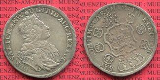 Taler 1690 Sachsen Albertinische Linie Aug...