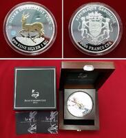 10.000 Francs CFA 2013 Gabun Giant Investm...