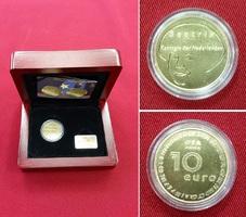 10 Euro Goldmünze 2004 Niederlande Europa ...