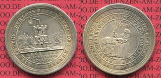 Medaille 1717 Sachsen Eisenach Christian W...