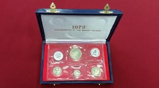 10, 20, 50 & 100 Dollars 1973 Bahamas Tier...