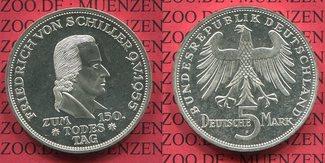 5 DM Silber Gedenkmünze 1955 F Bundesrepub...