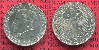 5 DM Gedenkmünze Commemorative Coin 1957 B...