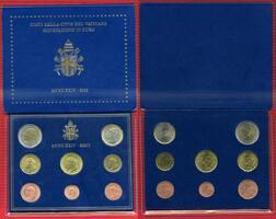 Kursmünzensatz Johannes Paul II 2002 KMS 2...