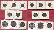 Bundesrepublik Deutschland, Germany FRG Kursmünzensatz mit Silberadler u Planck BRD Kursmünzensatz 1965 G  PP/Spiegelgl. OVP mit 5 DM Silberadler 2 DM Planck