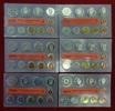 Bundesrepublik Deutschland DM Kursmünzensatz komplett 30 Platten Bundesrepublik Deutschland DM KMS 1996-2001 Komplett je A D F G J