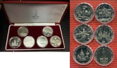 Lot 6 x 1 Rubel Ku/Ni 1977-1980 Russland, Russia, UDSSR, USSR Olympiade... 32.20 US$ 28,00 EUR  +  9.77 US$ shipping