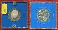 DDR, GDR Eastern Germany 10 Mark DDR 10 Mark 1981 Silber Hegel PP, OVP