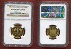 Bundesrepublik Deutschland 1 Goldmark Berlin 1 DM Gold Good Bye German Mark issue, Legal Tender, Zahlungsmittel