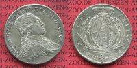 Sachsen Albertinische Linie 2/3 Konventionstaler Thaler Sachsen 2/3 Konventionstaler 1795 Friedrich August III. 1763-1806