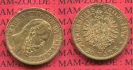 20 Mark Goldmünze 1876 Württemberg State of German Empire Württemberg 2... 450,00 EUR  +  8,50 EUR shipping