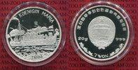 7 Won 20 g 999 Silber 2003 Nord Korea Kore...