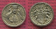 Silbermedaille Guss Zeitgenössich um 1560 o.J. Sachsen Weimar Eisenach ... 1495,00 EUR