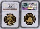 China Volksrepublik PRC 100 Yuan Panda, 1 Unze China 100 Yuan 1996 Gold Panda, 1 Unze sehr selten