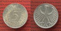 Bundesrepublik Deutschland 5 DM Silberadler Kursmünze Silberadler Seltener Jahrgang Key Date !