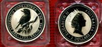 Australien 2 Dollar 2 oz Silber Australien 2 Dollar 2 oz Silber Kookaburra 1995 1 Eisvogel