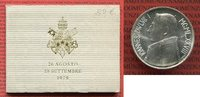 1000 Lire 1978 Vatikan Papst Johannes Paul I. Stempelglanz mit Folder, ... 22,00 EUR