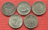Lot 5 x 1/2 Dollar 1893 - 1982 USA Commemorative Silver Half Dollars Co... 99,00 EUR  +  8,50 EUR shipping