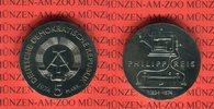 5 Mark 1974 DDR Gedenkmünze 100. Todestag Philipp Reis prägefrisch  16.66 US$ 15,00 EUR