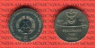 5 Mark 1976 DDR Gedenkmünze 200. Geburtstag Ferdinand von Schill prägef... 13,00 EUR