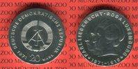 20 Mark 1971 DDR Gedenkmünze 100. Geburtstag Karl Liebknecht, Rosa Luxe... 54.41 US$ 49,00 EUR