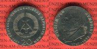20 Mark 1967 DDR Gedenkmünze 200. Geburtstag Wilhelm von Humboldt präge... 79,00 EUR