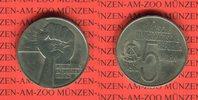 5 Mark 1978 DDR Gedenkmünze Internationales Anti-Apardheit-Jahr prägefr... 7,00 EUR