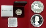 1 Dollar Silbermünze 1986 Kanada Vancouver Lokomotive Eisenbahn PP Poli... 22,00 EUR