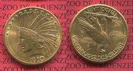10 Dollars Eagle Indian Head 1910 D USA USA 10 Dollars Indianerkopf, In... 745,00 EUR