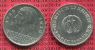5 Mark 1929 A Weimarer Republik Deutsches Reich 200. Geburtstag von Les... 122.15 US$ 110,00 EUR