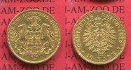 10 Mark Goldmünze 1879 Hamburg Stadtwappen sehr schön+ /sehr schön  283.16 US$ 255,00 EUR