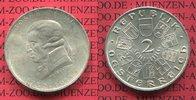 Österreich, Austria 2 Schilling Gedenkmünze Silber Josef Haydn