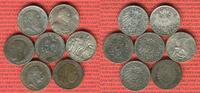 7 x 2 Mark Silbermünzen 1876 - 1913 Baden, Preußen Kaiserreich Lot 7 Ty... 119,00 EUR  +  8,50 EUR shipping
