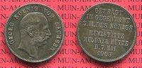 2 Mark Silber Gedenkmünze 1903 E Sachsen 2...