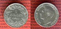 1 Gulden 1841 Württemberg Wilhelm König von Württemberg ss-vz leicht be... 39,00 EUR  +  8,50 EUR shipping