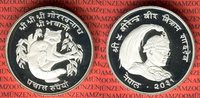 50 Rupees Silber 1974 Nepal Red Panda WWF 50 Rupien Polierte Platte mit... 45,00 EUR  +  8,50 EUR shipping