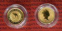 15 Dollar 1990 Australien Nugget, Känguruh 1/10 Unze Gold Stempelglanz ... 135,00 EUR  +  8,50 EUR shipping