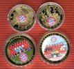 Lot von 4 Medaillen 2013 Deutschland Die größten erfolge des FC Bayern ... 19,00 EUR  + 8,50 EUR frais d'envoi