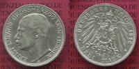 3 Mark Silber Kaiserreich 1910 Hessen Ernst Ludwig, vz-prfr  110,00 EUR  + 8,50 EUR frais d'envoi