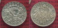 2 Mark Silbermünze Kursmünze 1904 Bremen, ...